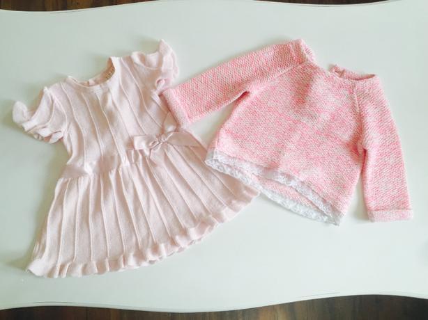 Girls jumper and dress