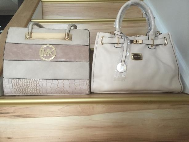 jimmy choo and mk handbags