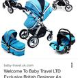 isafe 3 in 1 pram travel system