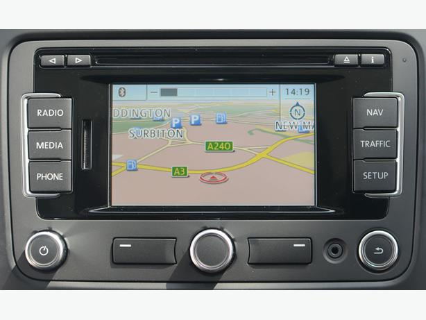 Brand New VW Sat Nav Screen RNS315 DAB
