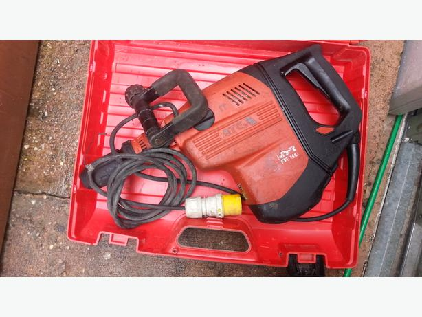 Hilti TE 80 ATC / AVR Hammer Drill 3 110v. 3 function