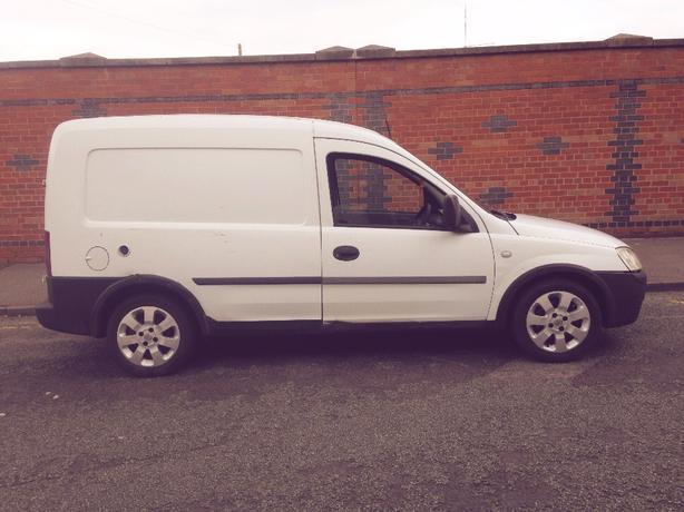 2003 Vauxhall Combo Van Duelfuel LPG