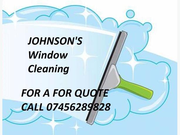 Johnson's window & guttering cleaning