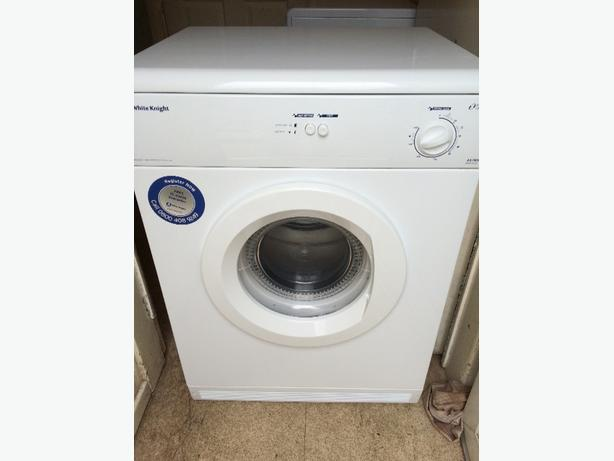 white knight 6kg vented tumble dryer
