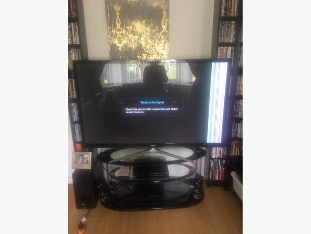 "60"" 3d smart tv faulty screen"