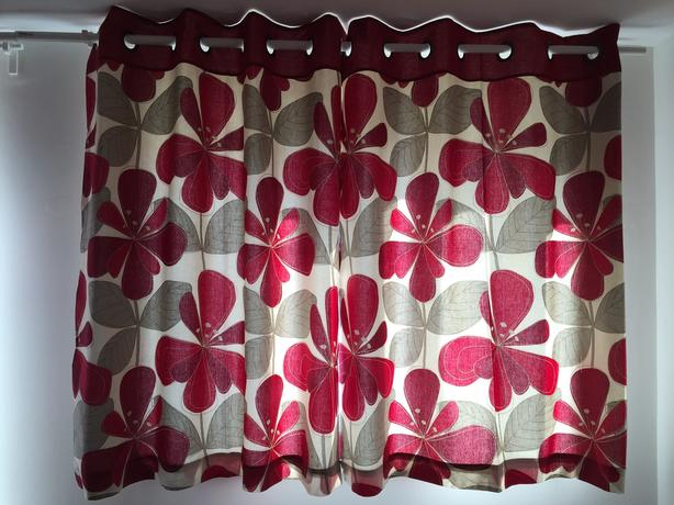 NEXT Floral Eyelet Curtains (Short)
