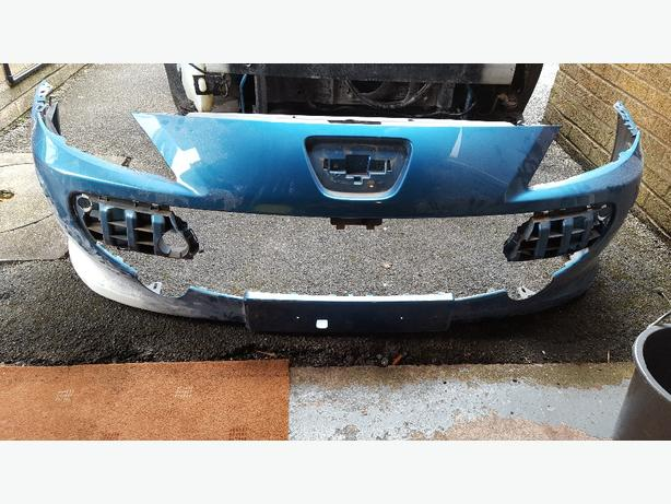 peugeot 307cc 307 front bumper