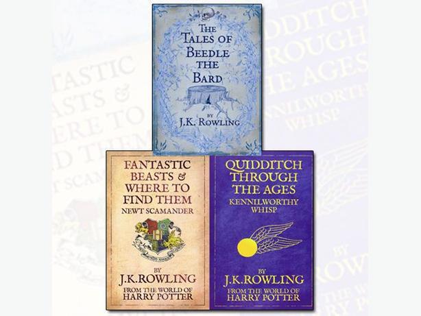 J. K. Rowling Collection 3 Books Set