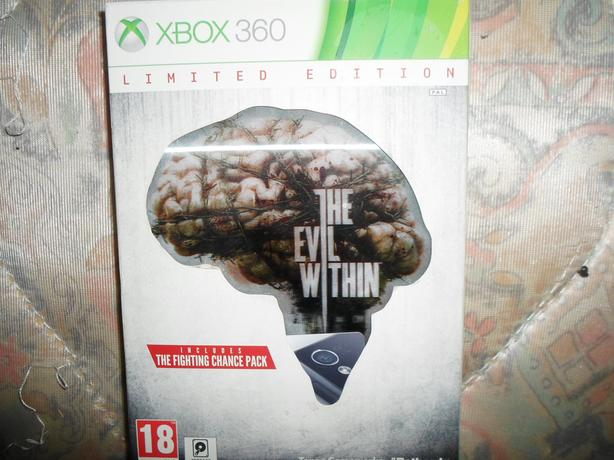xbox 360 the evil within limited edition
