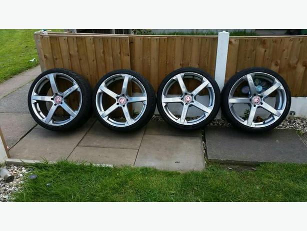 """19""""vauxhall alloys wheels"""