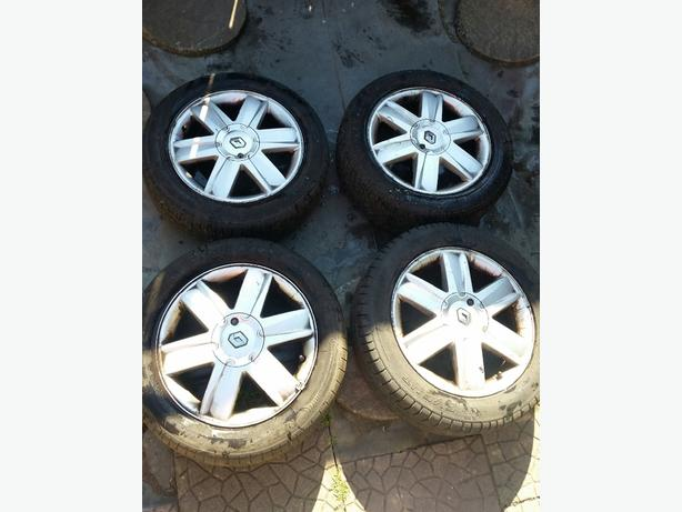 "Renault Megane Alloy wheels and Tyres ""16"