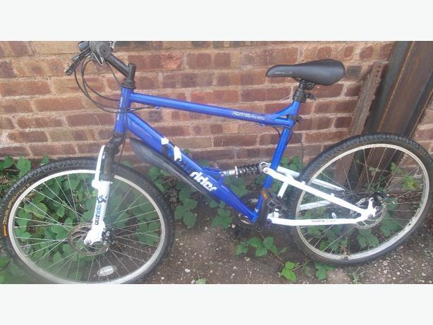 Apollo Outrider full sus-disc brakes £65