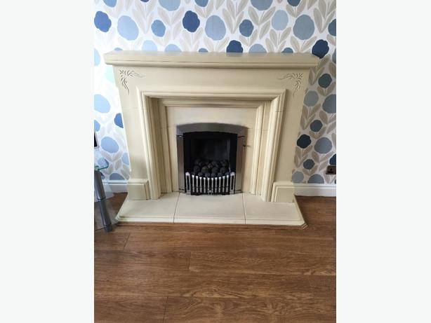 fireplace surround and base