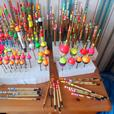 185 Hand Crafted Traditional Fishing Floats REDUCED!