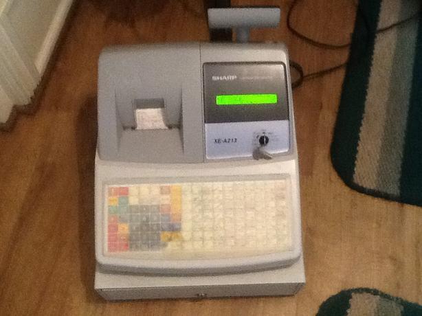 Sharp cash register xe-a213