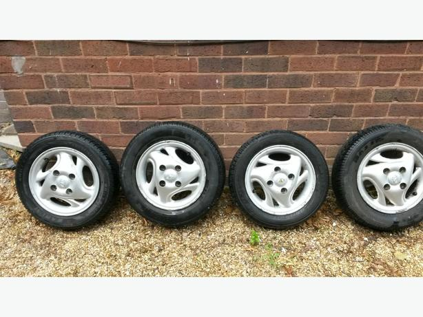Daewoo Matiz Alloy Wheels x 4
