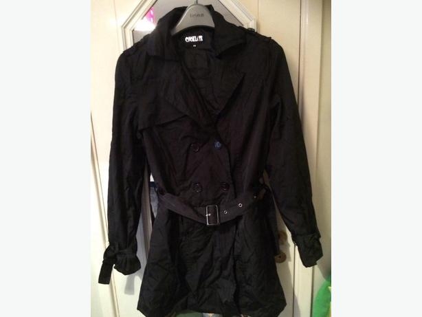 Womens trench coat size 16