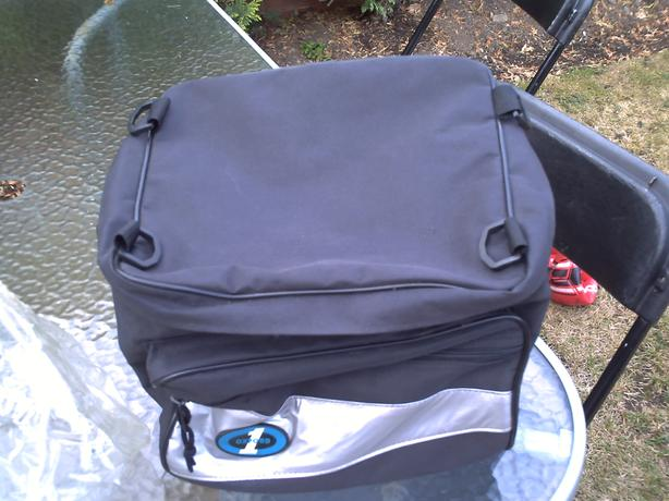 OXFORD 1 REAR SEAT FIRST TIME TAIL PACK LUGGAGE BAG