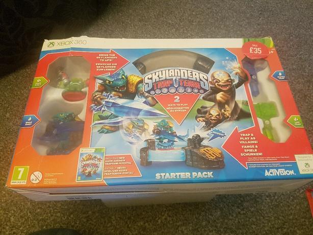 skylanders trap team xbox 360 starter pack