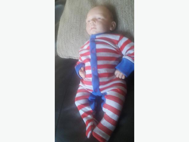 Finn by Tina Kewy reborn doll