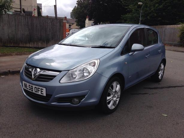 Vauxhall Corsa 2008 (58) 1.3 Diesel Half Leather Interiour