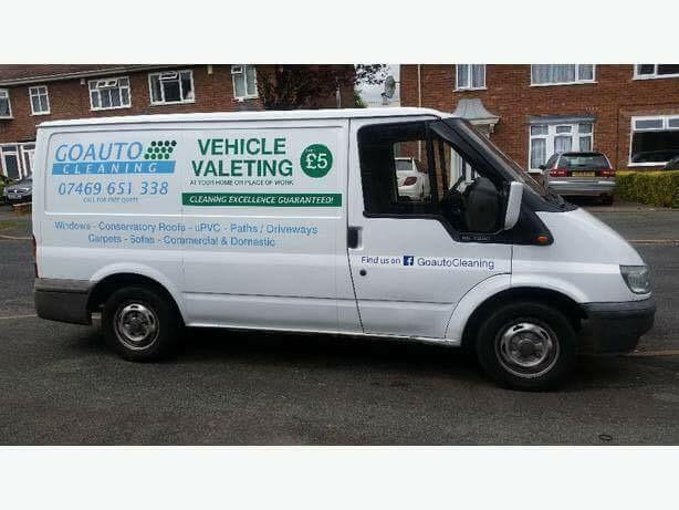 Transit valeting van