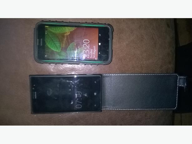 Two nokia Lumia Windows phone's