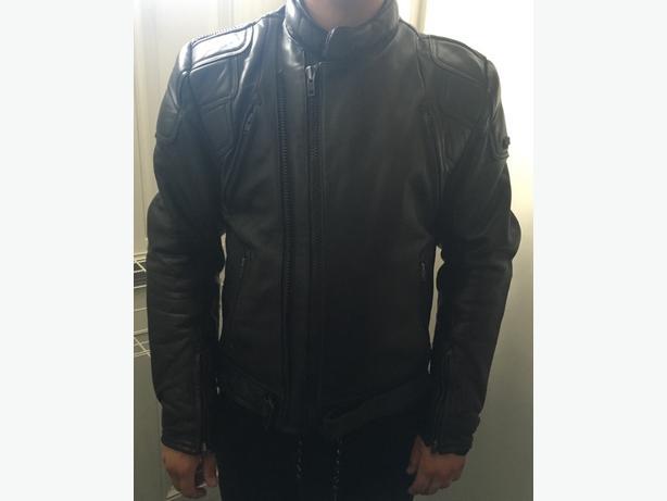Frank Thomas 100% Leather Motorcycle Jacket