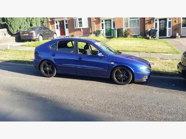 FOR-TRADE:leon 1.8t cupra mint remapped cupra r extras  bam head ect