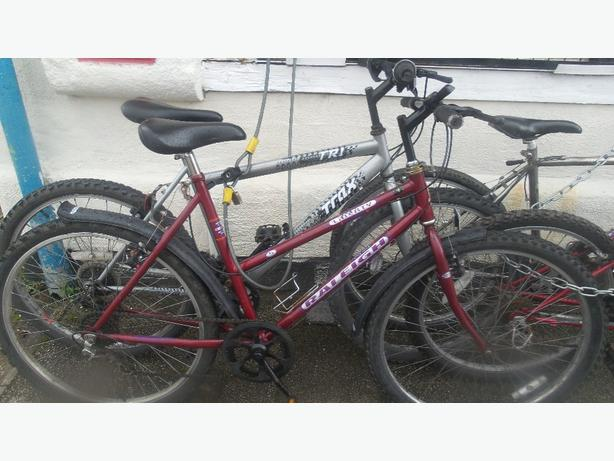 Ladies and mens mountain bike sale from £30 upwards