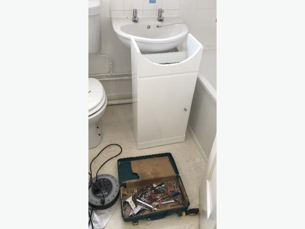 bathroom undersink unit **NEW**