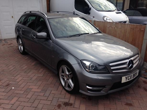 2011 mercedes benz c250 amg blueefficeny outside black for Mercedes benz c250 amg
