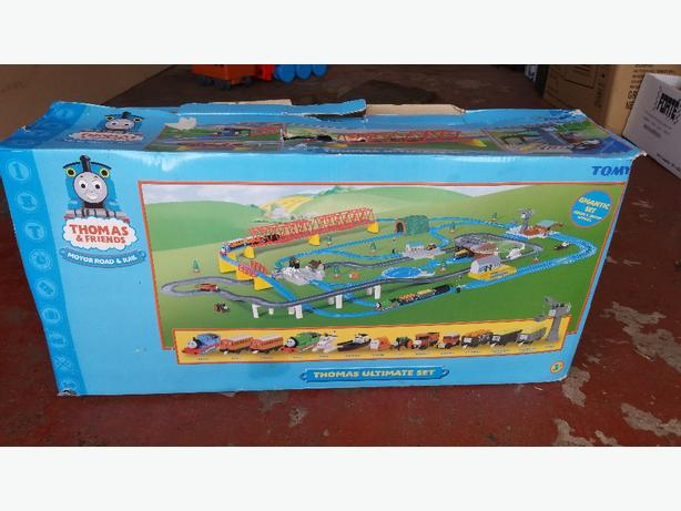 large Thomas the tank train set
