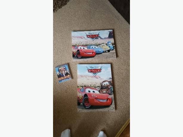 Disney cars canvas pictures