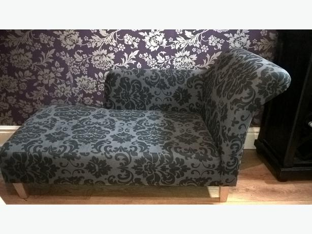 damask chaise lounge
