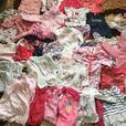 massive joblot of baby girls clothes sizes 0-18 months
