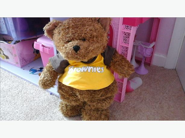 Brownie teddy