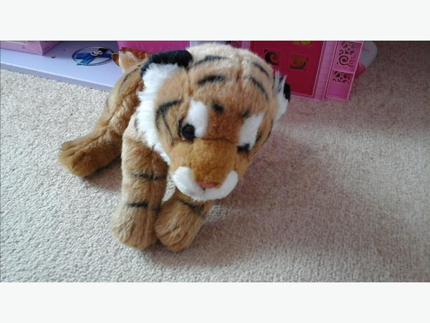 Tiger cub soft toy