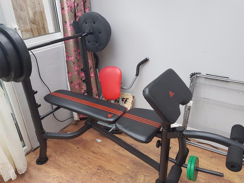 Used weights and bench images press with