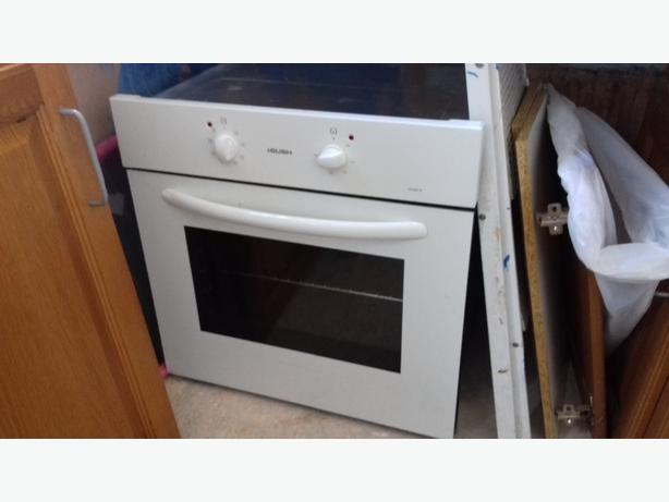 neef gas hob and bush electric oven