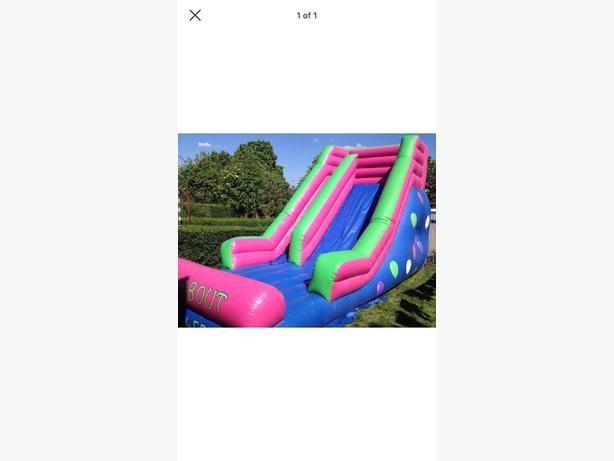 Big inflatable slide 12x25