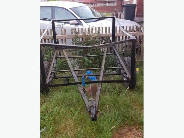 steel framed trailer