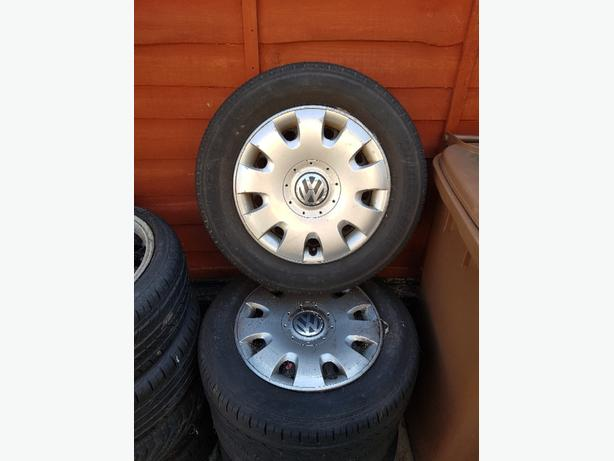 Volkswagen Wheels, Tyres and Trims