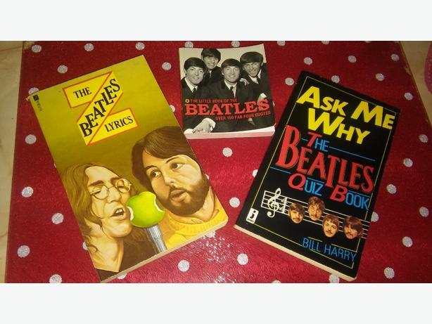 3 BEATLES BOOKS 2 QUITE RARE