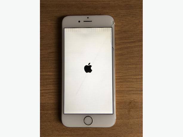 apple iphone 6 16gb gold faulty 150 ono