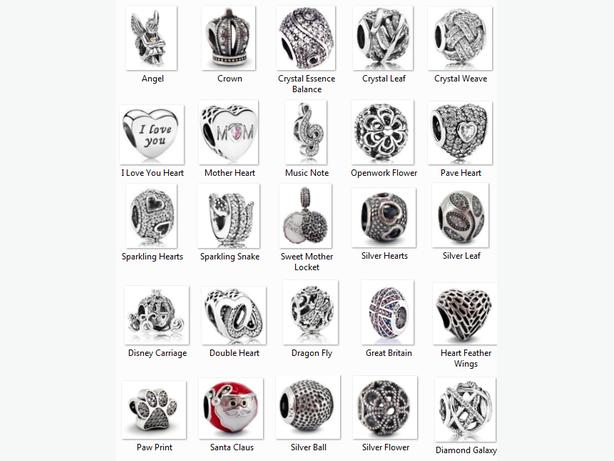 s925 Real Sterling Silver Charms - Fits Pandora