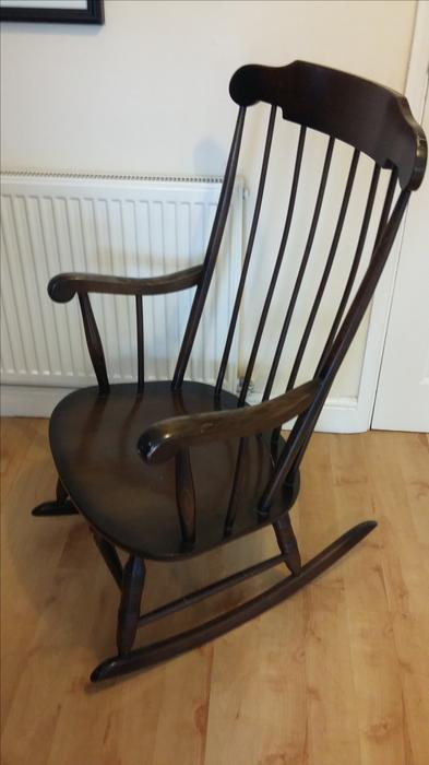 wooden rocking chair wolverhampton dudley