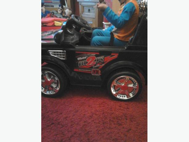 kids electric car with remote control or manual