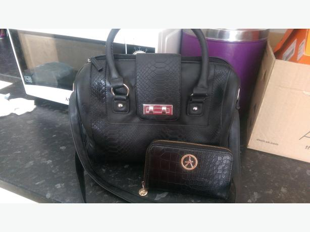 atmosthere bag and purse set
