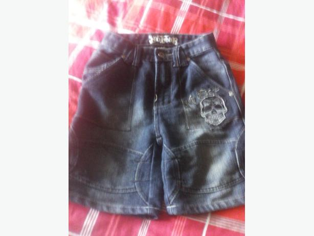 boys denim No fear shorts